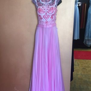 Size 10 pink prom dress. New with tags.